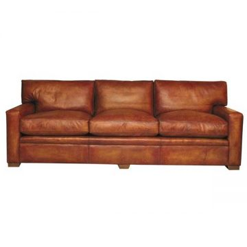 Armada Leather 4 Seater Sofa