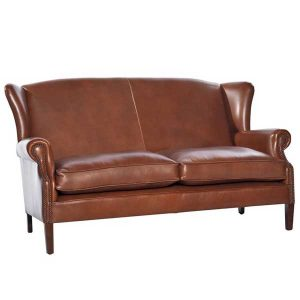 Victorian Leather Sofa