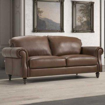 Watford Leather Sofa