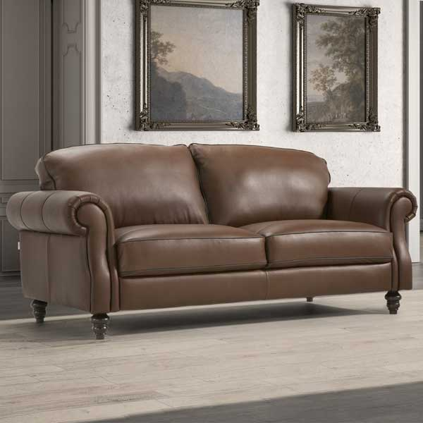 Watford Leather Sofa