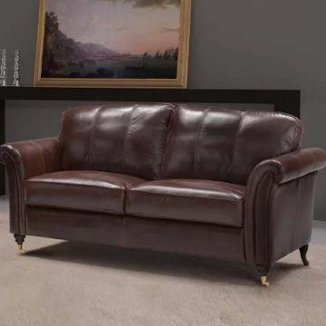 Nightsbridge Leather Sofa