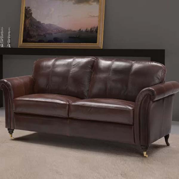 Nightsbridge Leather Sofa